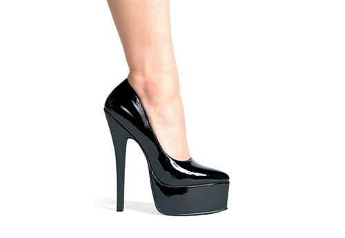 4. Black stilettos