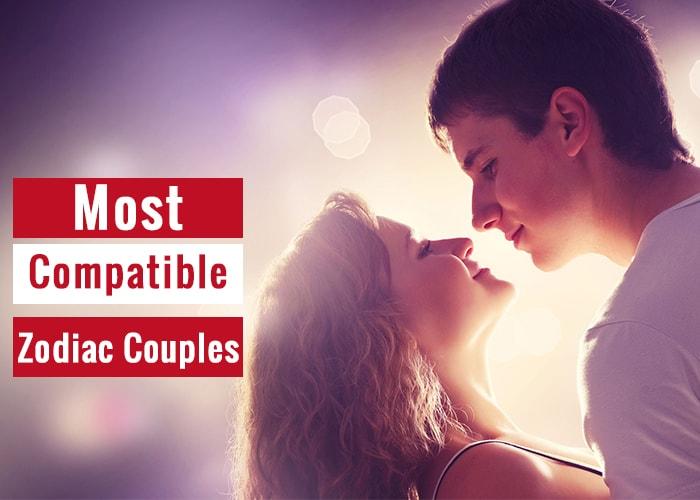 most compatible zodiac couples
