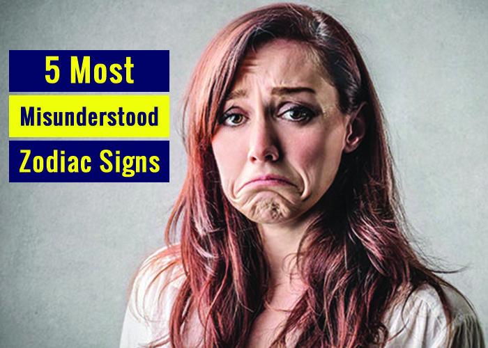 most misunderstood zodiac signs