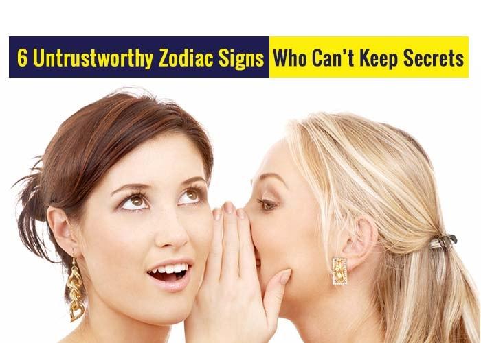untrustworthy zodiac signs