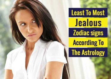 jealous zodiac signs, most jealous zodiac signs, least jealous zodiac signs