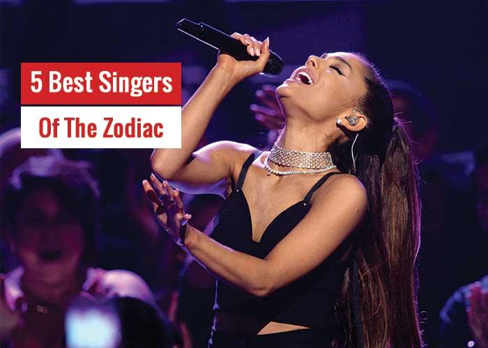 best singers zodiac signs