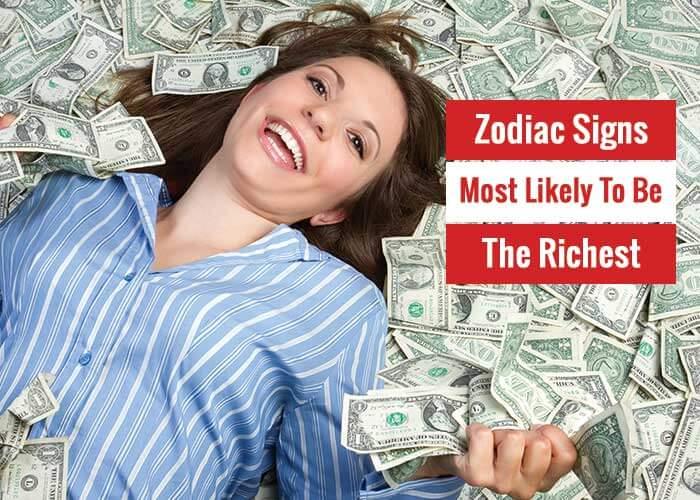 richest zodiac sign