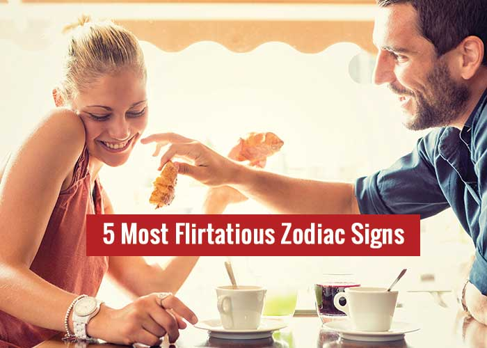 most flirtatious zodiac signs
