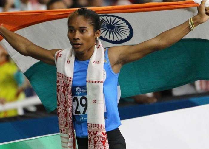 Hima Das The Golden Girl From India