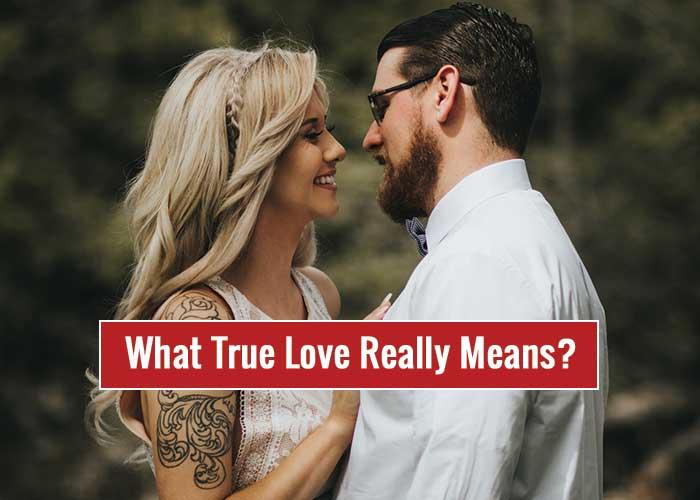 true love, real love
