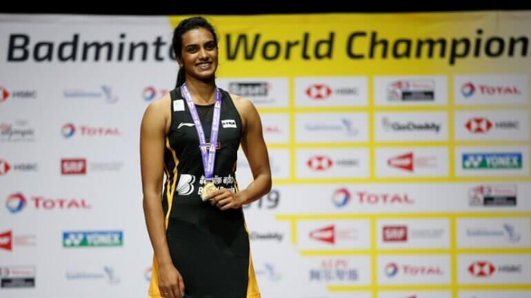India's Pride P.V Sindhu, 2019 BWF World Champion In Women's Single